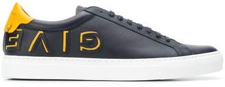 Givenchy inverted logo low sneakers