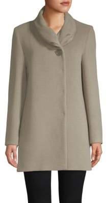 Cinzia Rocca Crunch Collar Coat