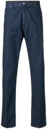 Z Zegna straight leg jeans