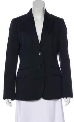 Valentino Structured Button-Up Blazer