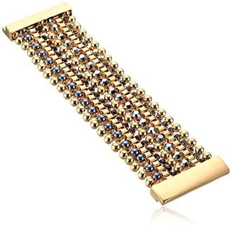 Kenneth Cole New York Bond and Mixed Faceted Stone Multi Row Bracelet