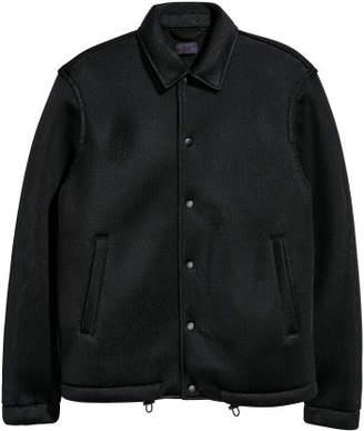 H&M Mesh Shirt Jacket - Black