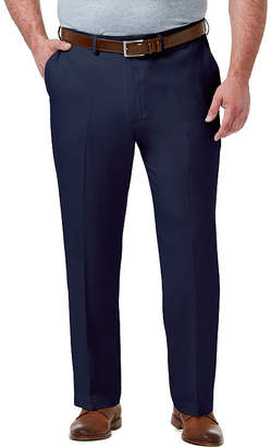 Haggar Premium Comfort Dress Pant Classic Fit Flat Front Pants-Big and Tall