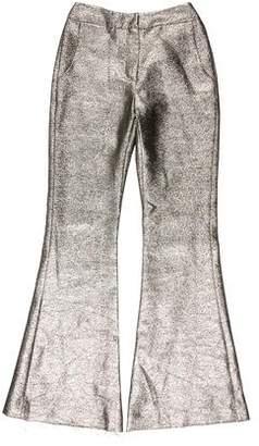 Petersyn Metallic Flared Pants w/ Tags
