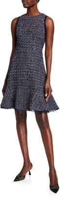 Eliza J Sleeveless Fit And Flare Dress