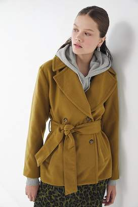 Urban Outfitters True Belted Peacoat