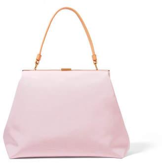 Mansur Gavriel - Elegant Faille Tote - Pastel pink $695 thestylecure.com