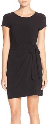 Women's Leota Side Tie Jersey Sheath Dress $148 thestylecure.com
