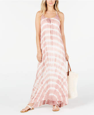 Raviya Tie-Dyed Maxi Cover-Up Dress Women Swimsuit