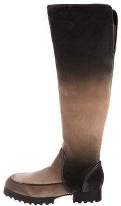 Donald J Pliner Velvet Knee-High Boots