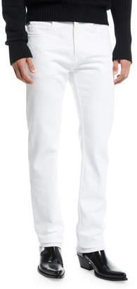 Calvin Klein Men's Straight-Leg Solid Denim Jeans