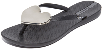 Ipanema Wave Heart Flip Flops $26 thestylecure.com