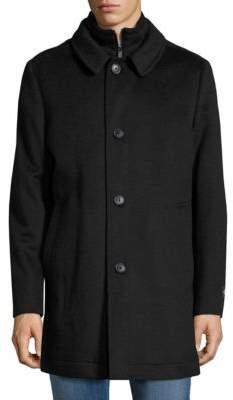 Hart Schaffner Marx Wool-Blend BIb Car Coat
