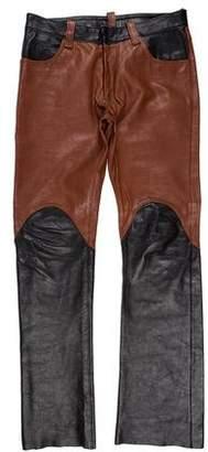Maison Margiela Replica Leather Pants