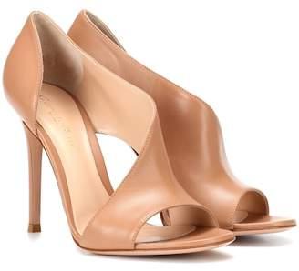 Gianvito Rossi Demi leather sandals