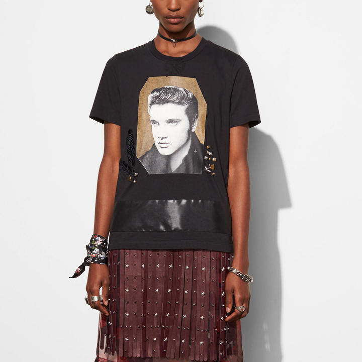 Coach   COACH Coach Elvis T-shirt With Bow