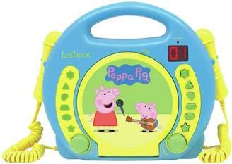Peppa Pig Karaoke CD Player.