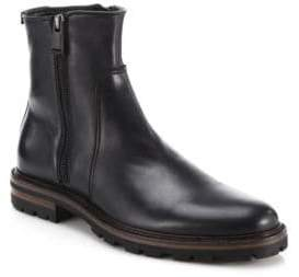 Aquatalia Jared Leather Ankle Boots