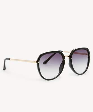 Sole Society Charli Slim Frame Round Sunglasses