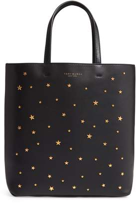 Tory Burch Small Star Studded Leather Tote