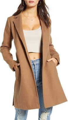 Jack by BB Dakota Keep Your Secrets Melton Belted Coat