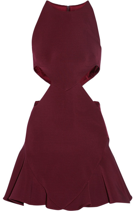 Cushnie et Ochs Cutout stretch-jersey mini dress