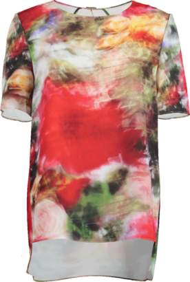 ADAM by Adam Lippes Multi-Floral Printed Tee