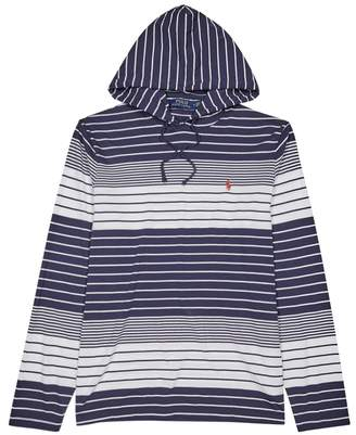 Polo Ralph Lauren Striped Hooded Cotton Top