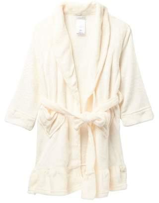 ... Komar Cream Ruffle Robe (Big Girls) 21ea63576