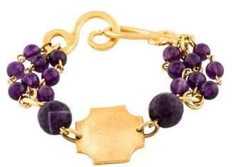Stephanie Kantis Dazzler Triple Russet Amethyst Bracelet