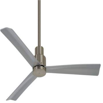 Minka Aire Minka-Aire Simple 44-Inch Ceiling Fan in Brushed Nickel