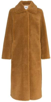 Stand Gilberte Teddy faux-fur coat