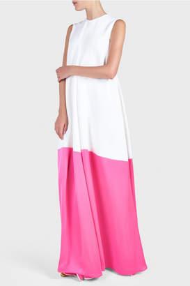Maison Rabih Kayrouz Round Neck Dress