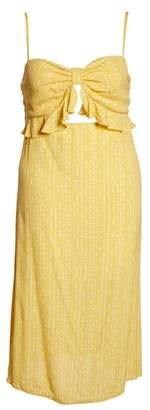 Leith Keyhole Midi Dress