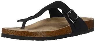 Skechers Women's Granola-Pyramids-Buckle Thong Slide Flip-Flop