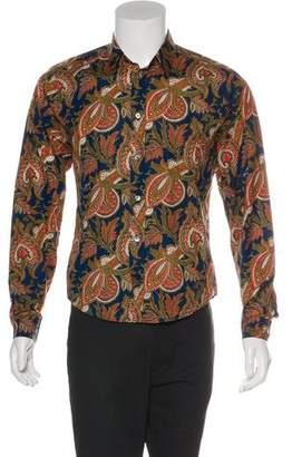 Louis Vuitton Abstract Print Shirt