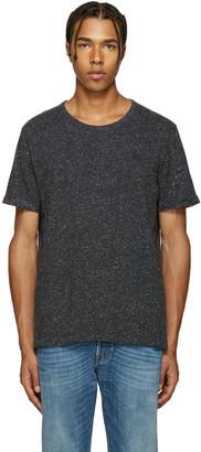 Burberry Black Millbrook T-Shirt $150 thestylecure.com