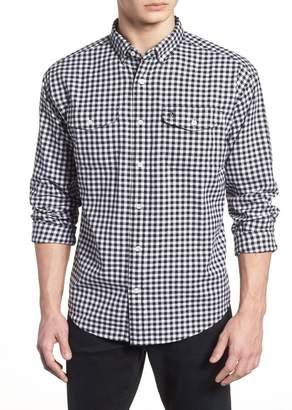 Original Penguin Textured Gingham Classic Fit Shirt