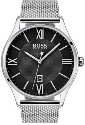 BOSS Talent Mesh Strap Watch, 44mm
