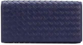 Bottega Veneta woven foldover wallet