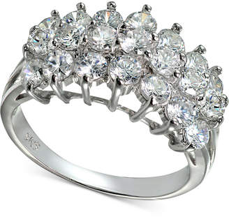 Giani Bernini Cubic Zirconia Pyramid Ring in Sterling Silver, Created for Macy's