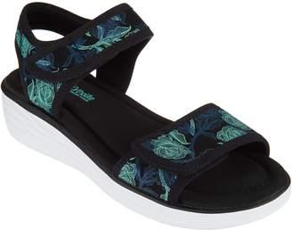Ryka Neoprene Wedge Sport Sandals - Nora