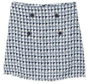 MANGO Tweed skirt