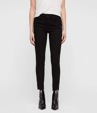 AllSaints Jeans Ankle Fray Skinny Jeans