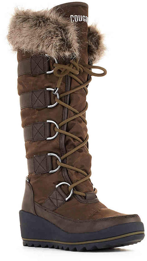 Cougar Women's Lancaster Snow Boot -Brown