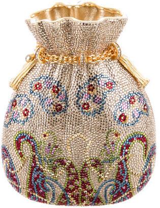 Judith Leiber Crystal Pouch Minaudière $1,345 thestylecure.com