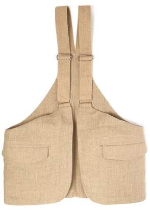 Bless X Stand Up Comedy Vest Bag - Mens - Beige