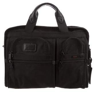 Tumi Canvas Laptop Shoulder Bag