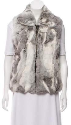 Collared Fur Vest