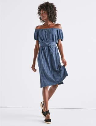 Lucky Brand OFF SHOULDER DRESS